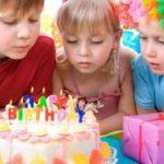 День рождения ребенка: как сделать праздник веселым