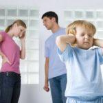 Как развод родителей воспринимает ребенок