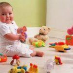 Игры и игрушки для развития младенца